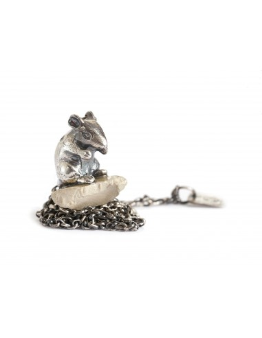 DANIELE BASTA | silver 925 neckless - MOUSE