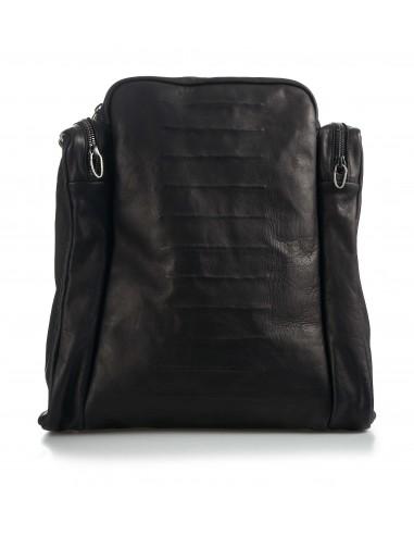 Danielebasta leather and silver backpack - tupac sc