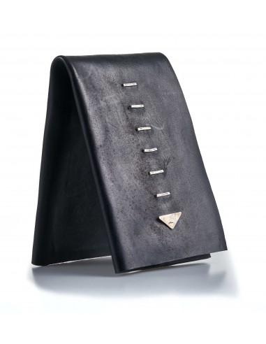 DANIELE BASTA | leather wallet - YAO grf