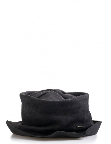 daniele basta leather and silver hat - pope ul